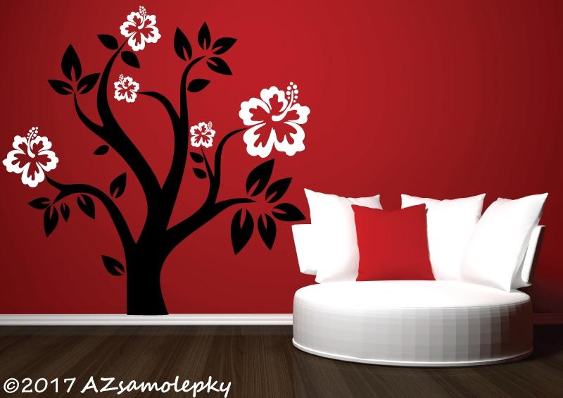 STROMY - samolepky na zeď - Samolepky na zeď - Strom DUO Flowers