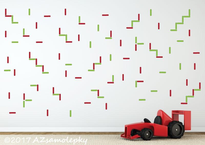 DĚTSKÉ samolepky na zeď - Dětské samolepky na zeď - DUO tyčinky