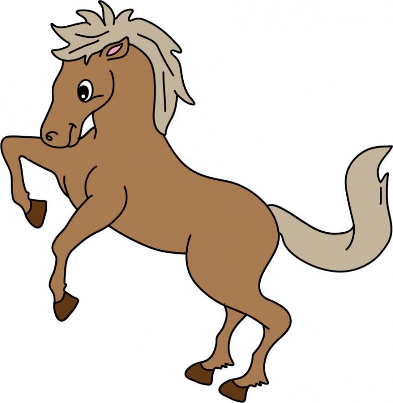 DĚTSKÉ samolepky na zeď - Kůň