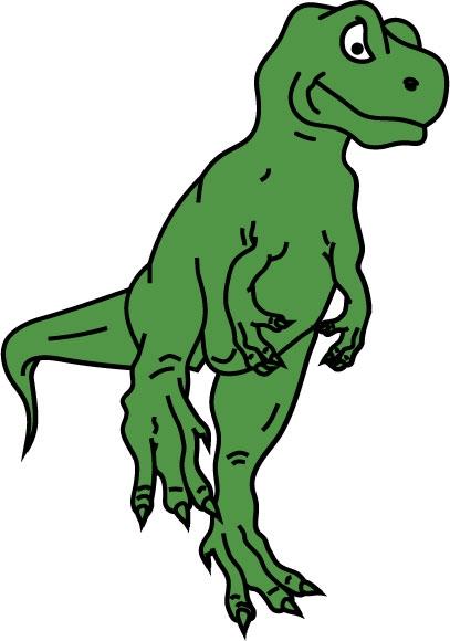 DĚTSKÉ samolepky na zeď - T-Rex