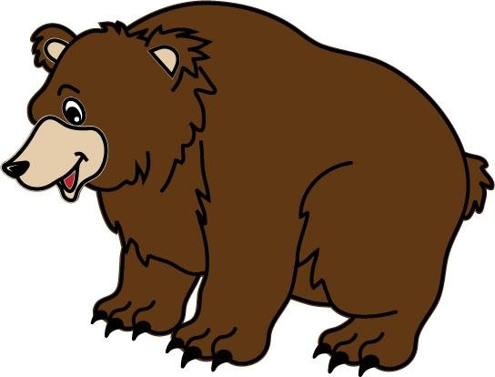 DĚTSKÉ samolepky na zeď - Medvěd