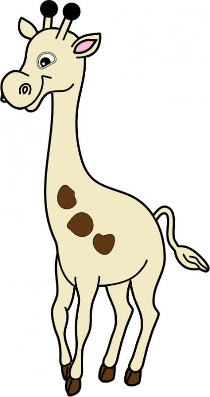 DĚTSKÉ samolepky na zeď - Žirafa