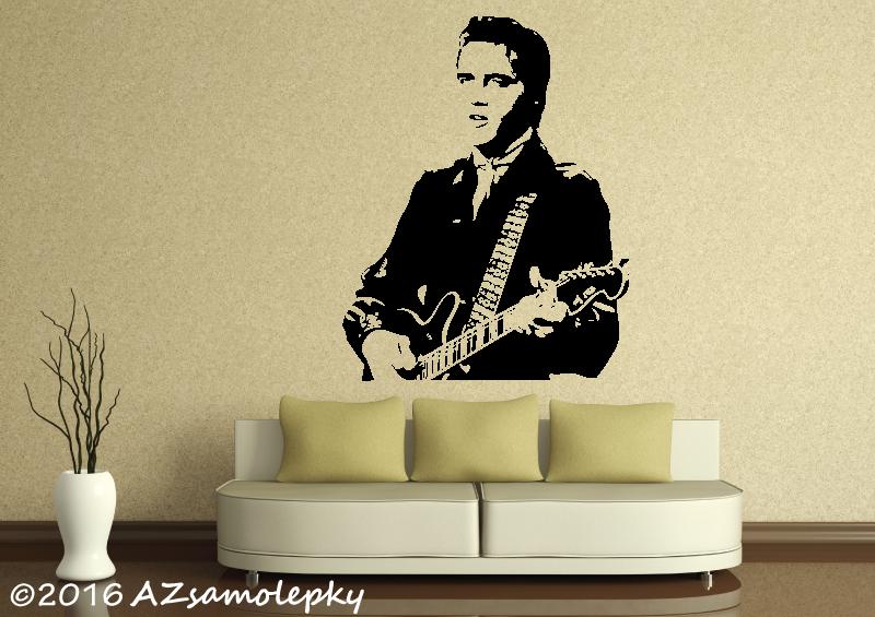 POSTAVY a OSOBNOSTI - Samolepky na zeď - Elvis Presley