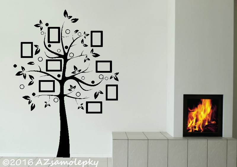 STROMY - samolepky na zeď - Samolepky na zeď - FOTO strom