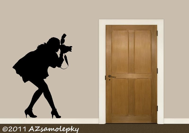 SPORT a ZÁJMY - samolepky na zeď - Samolepky na zeď - Fotografka
