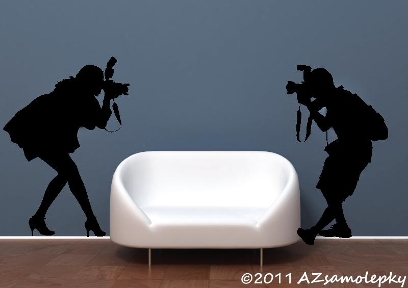 SPORT a ZÁJMY - samolepky na zeď - Samolepky na zeď - Fotografové