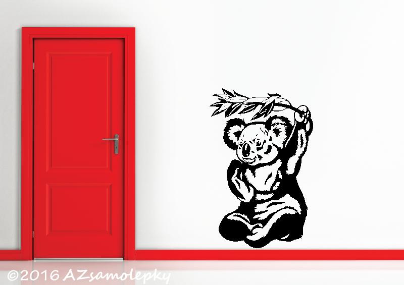 ZVÍŘATA - samolepky na zeď - Samolepky na zeď - Koala