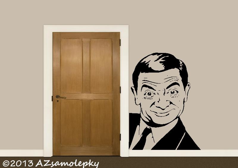 POSTAVY a OSOBNOSTI - Samolepky na zeď - Mr. Bean