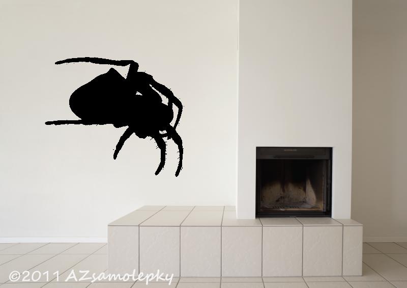 ZVÍŘATA - samolepky na zeď - Samolepky na zeď - Pavouk I
