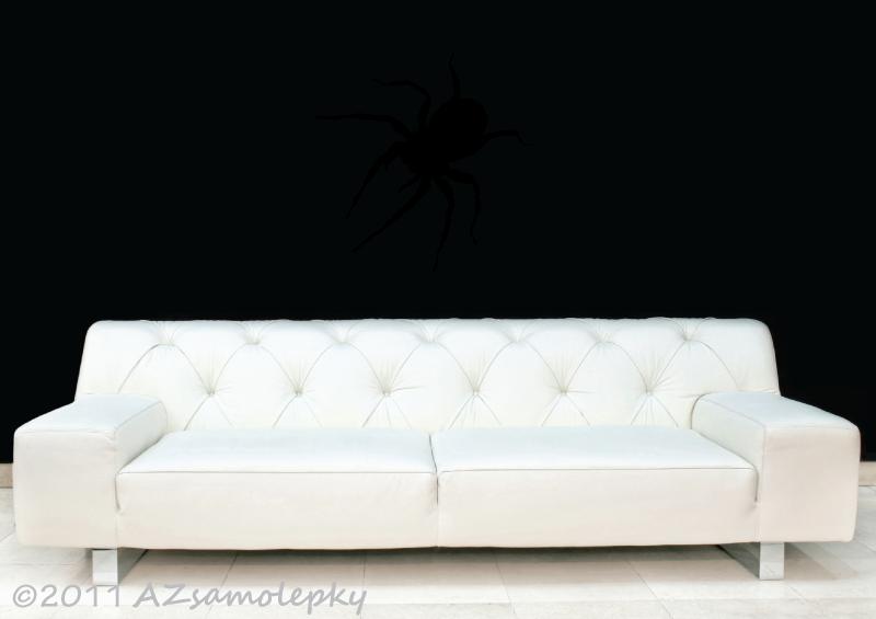 ZVÍŘATA - samolepky na zeď - Samolepky na zeď - Pavouk II
