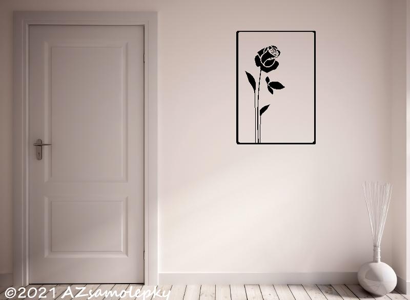Samolepicí obrázky - NOVINKA - Samolepky na zeď - SO - Růže