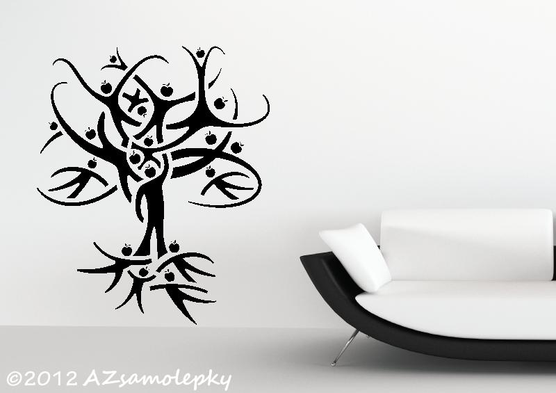 STROMY - samolepky na zeď - Samolepky na zeď - Strom života