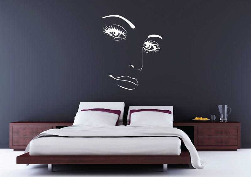 VÝPRODEJ - samolepky na zeď - Výprodej - Obličej