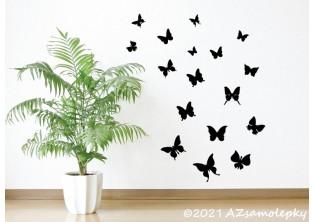 Samolepky na zeď - Jarní motýlci