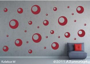 Samolepky na zeď - Bubliny