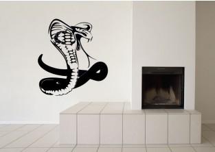 Samolepky na zeď - Kobra