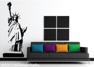 Samolepky na zeď - New York-Socha Svobody