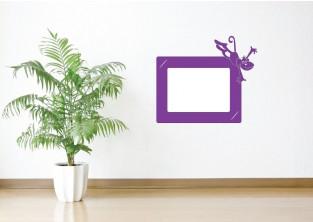Samolepky na zeď - Fotorámeček Opice