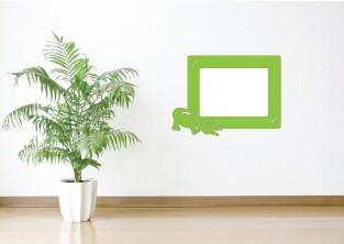 Samolepky na zeď - Fotorámeček Krokodýl