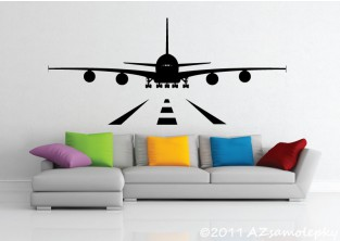 Samolepky na zeď - Letiště