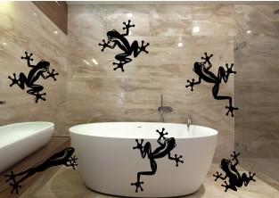 Samolepky na zeď - Žabky