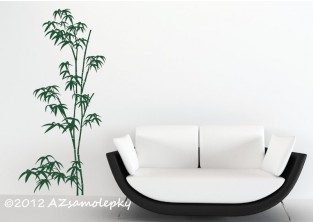 Samolepky na zeď - Bambus II