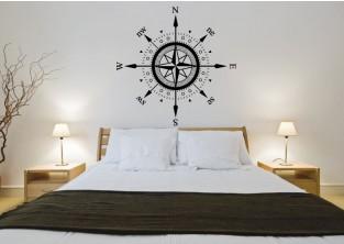 Samolepky na zeď - Kompas