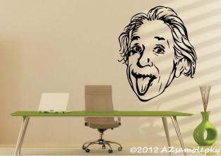 Samolepky na zeď - Albert Einstein