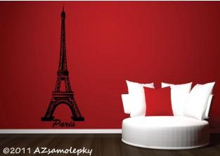 Samolepky na zeď - Eiffelova věž