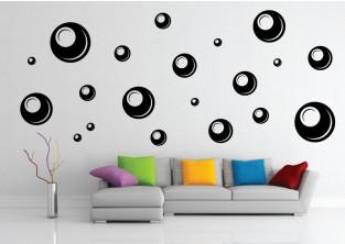 Samolepky na zeď - Bubble