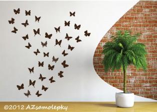 Samolepky na zeď - Mini - motýlci