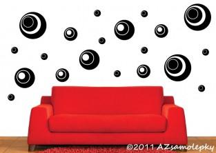 Samolepky na zeď - HIT bublinky