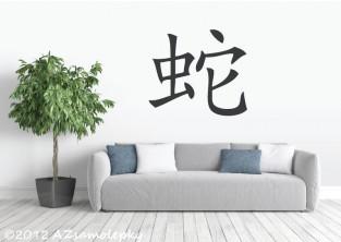 Čínské znamení zvěrokruhu - Had