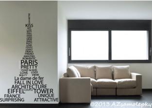 Samolepky na zeď - Eiffel Tower