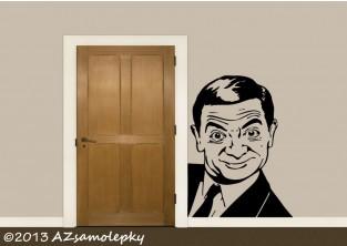 Samolepky na zeď - Mr. Bean