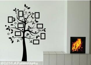 Samolepky na zeď - FOTO strom