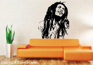 Samolepky na zeď - Bob Marley