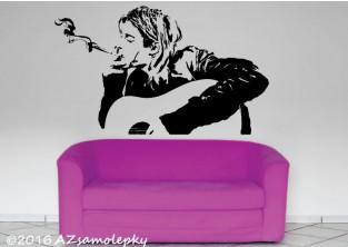 Samolepky na zeď - Kurt Cobain