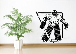 Výprodej samolepky - Lední hokej - brankář