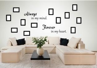 Samolepky na zeď-FOTO-Always-Forever